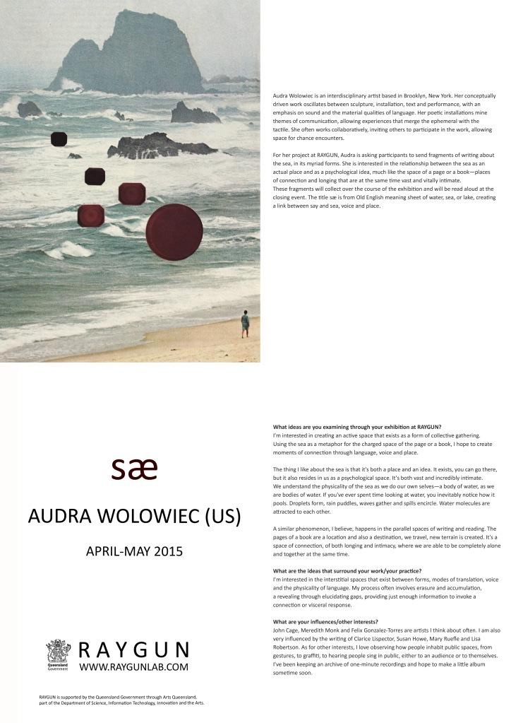 Audra, catalogue