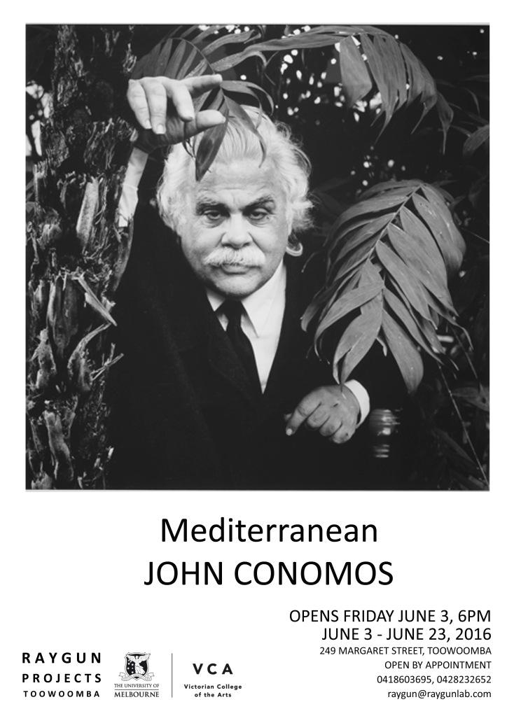 John Conomos Poster