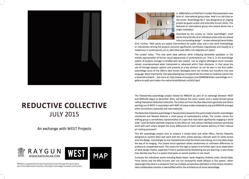 Reductive Collective Catalogue Final