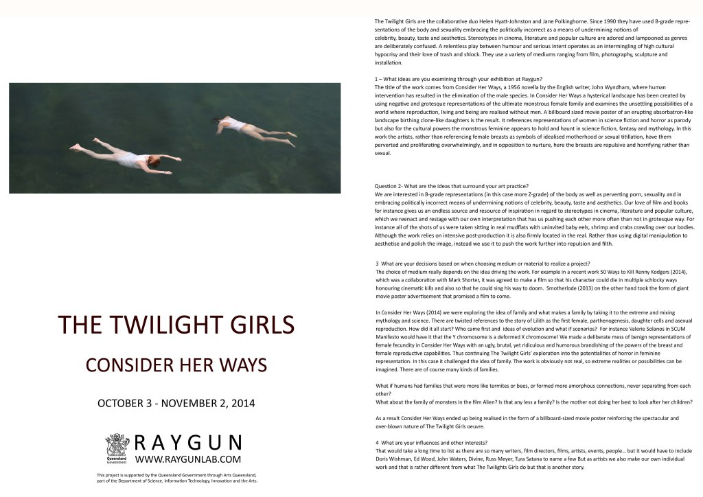 TWILIGHT GIRLS CATALOGUE - UPDATED