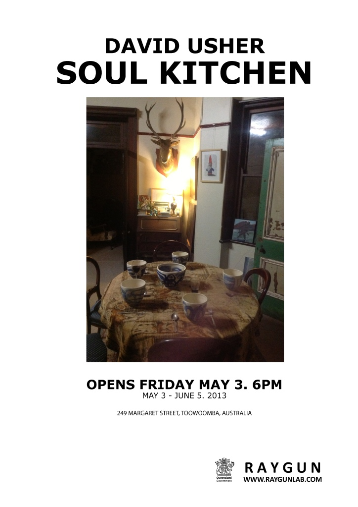 David, soul kitchen poster WITH LOGO'