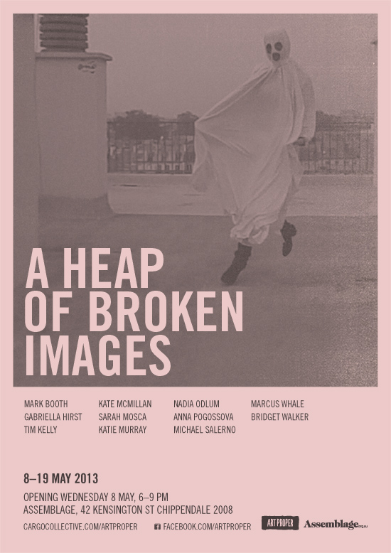 A heap of broken images