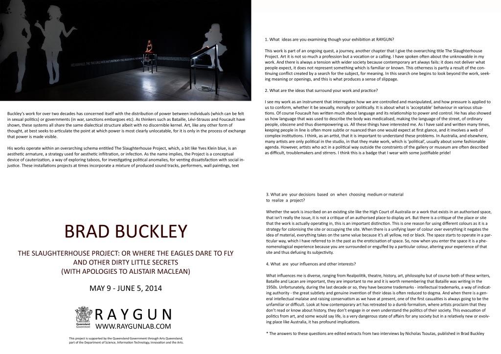BRAD BUCKLEY CATALOGUE-2