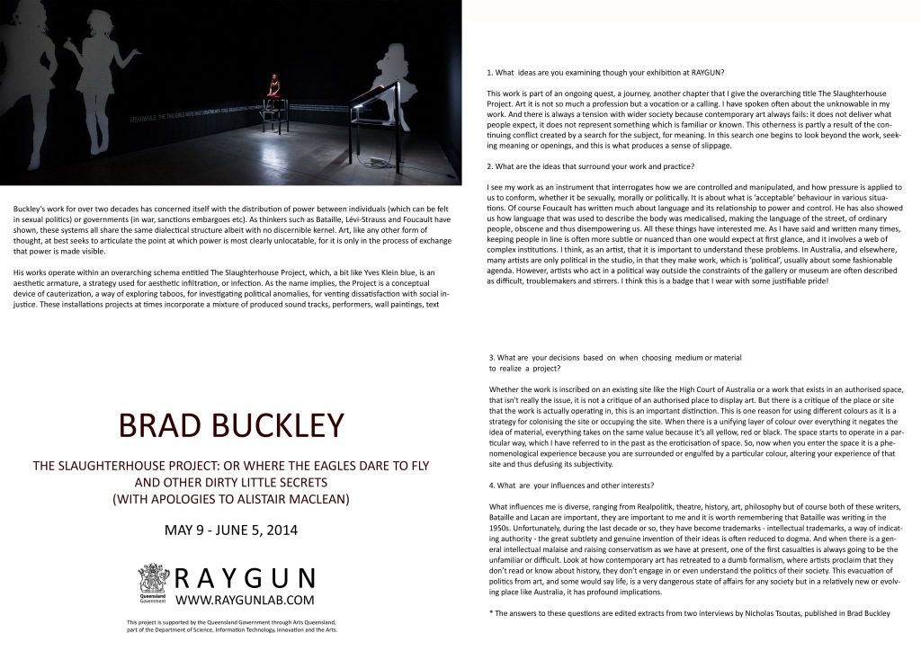BRAD BUCKLEY CATALOGUE-2