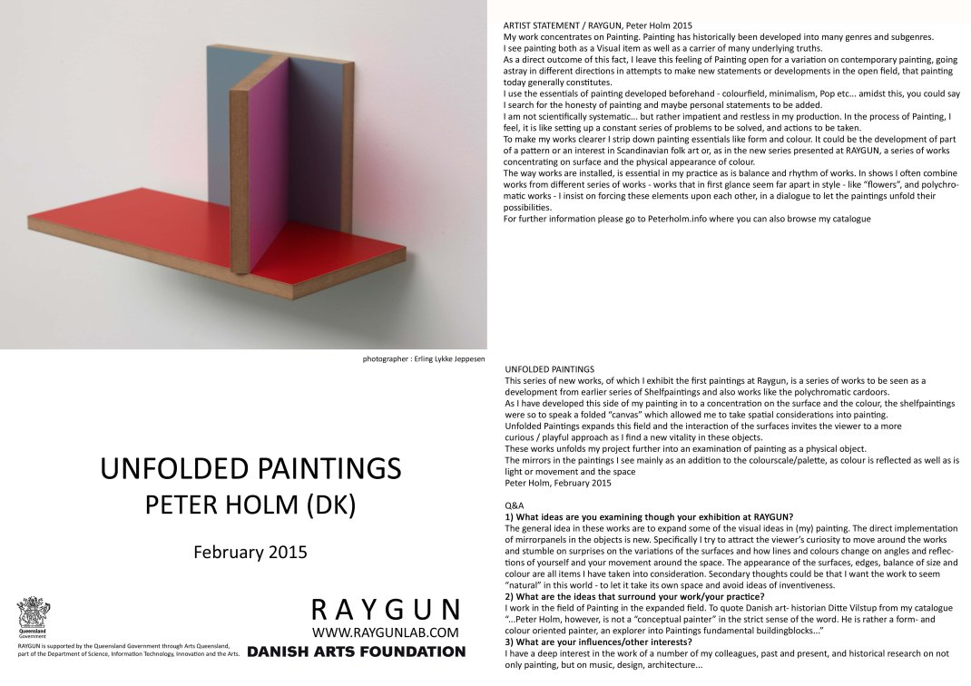 Peter Holm, catalogue(SM)