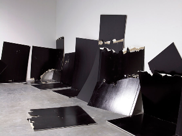 Steven Parrino at Gagosian Gallery