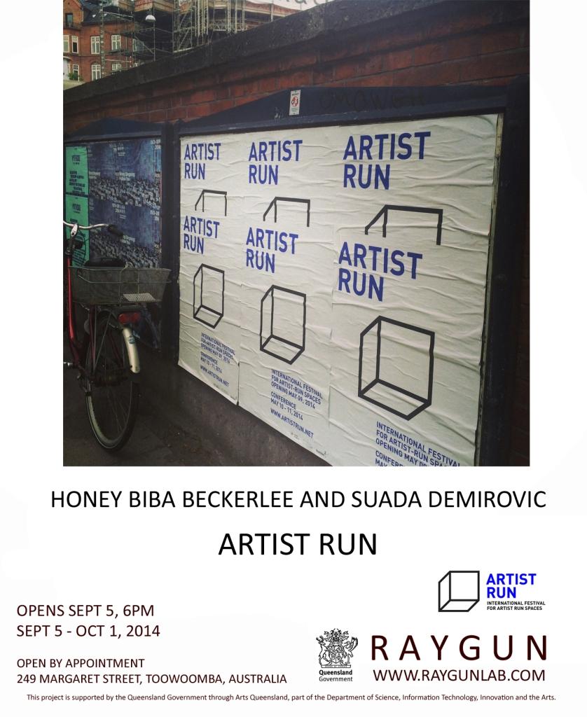 ARTIST RUN - show Poster2