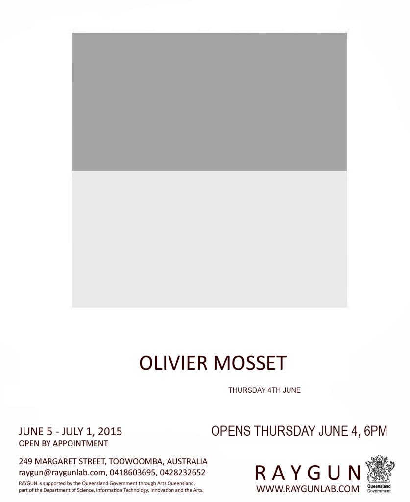 Olivier Mosset Poster