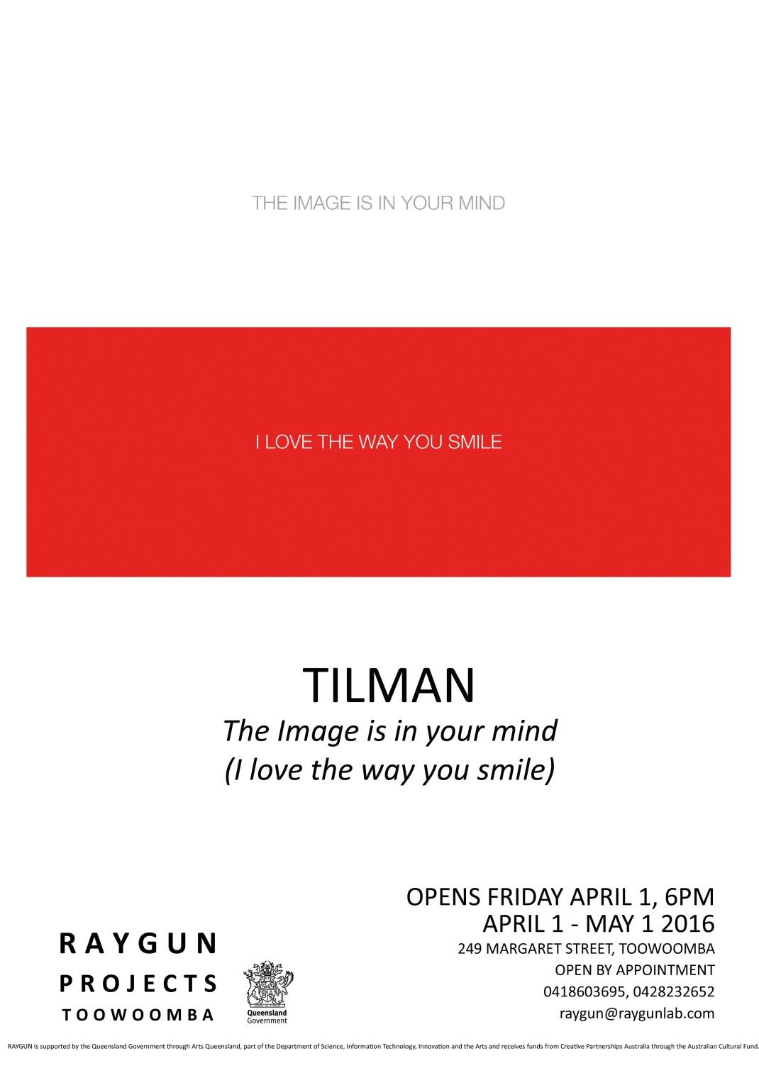 Tilman Poster italics